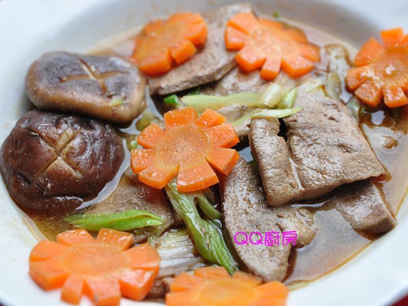 麻油炒豬肝湯