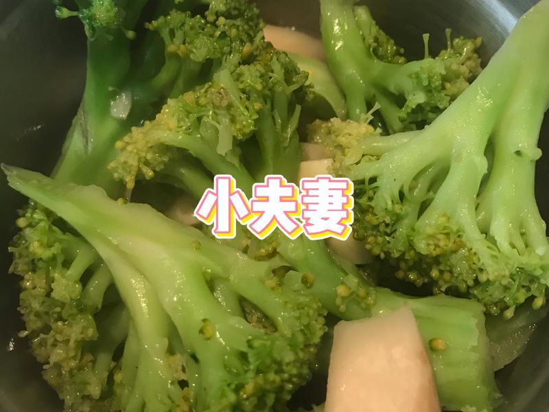 杏鮑菇炒花菜