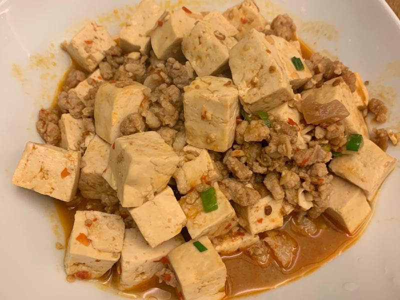 自己的麻婆豆腐自己記錄