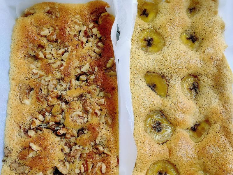 香蕉燕麥蛋糕