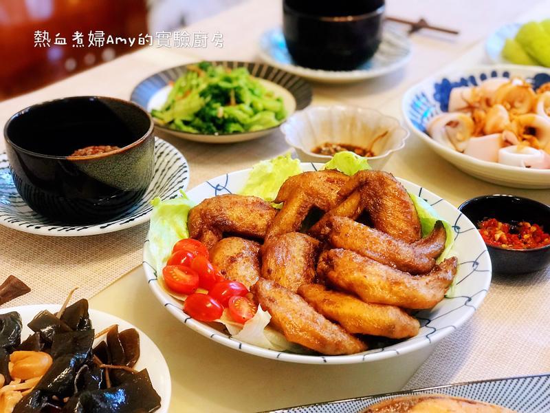 咖哩烤雞翅