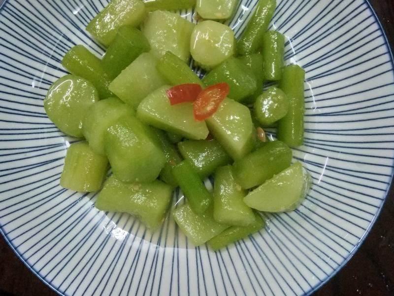 涼拌A菜菜心