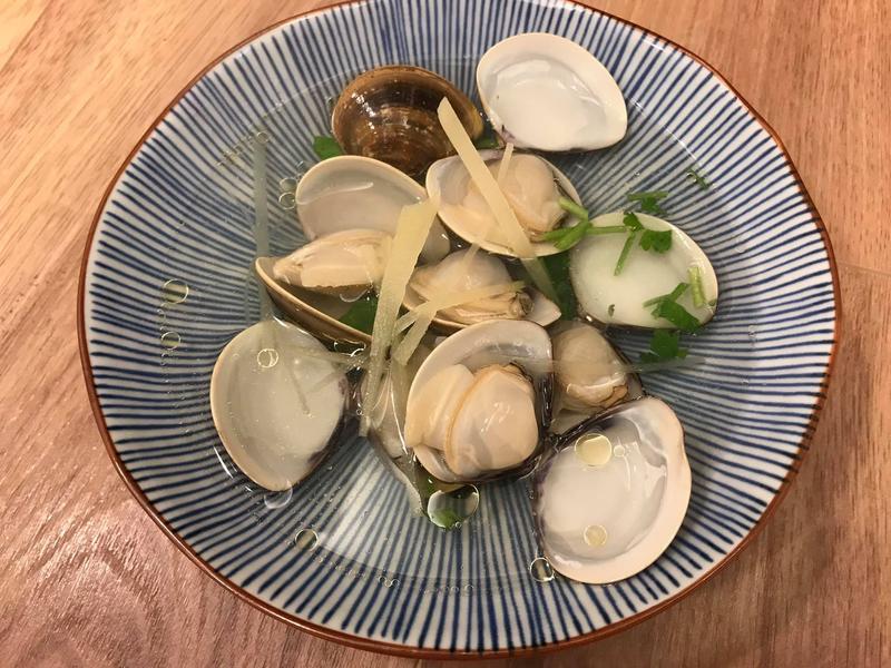 台式薑絲蛤蜊清湯