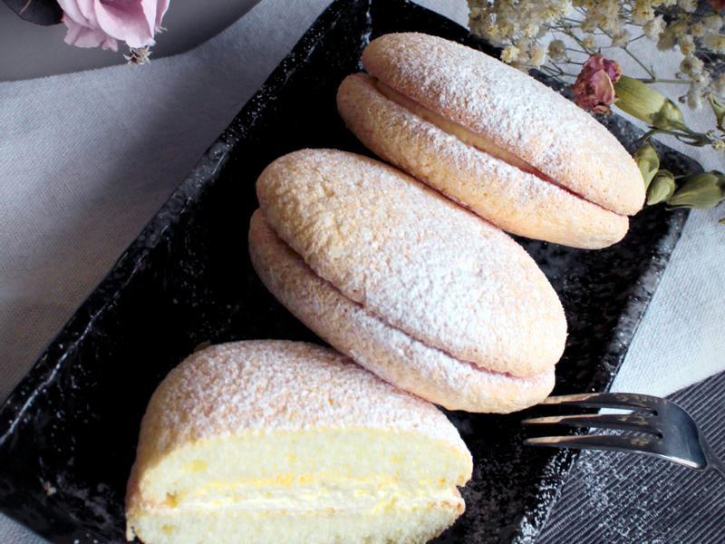 鬆軟口感布雪蛋糕 (Bouchee)