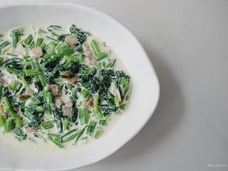 四季蓋營養#7 - 奶油菠菜