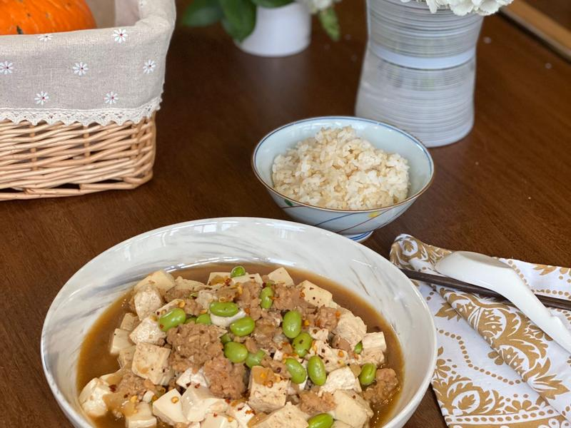 蔬食料理 - 新豬肉麻婆豆腐