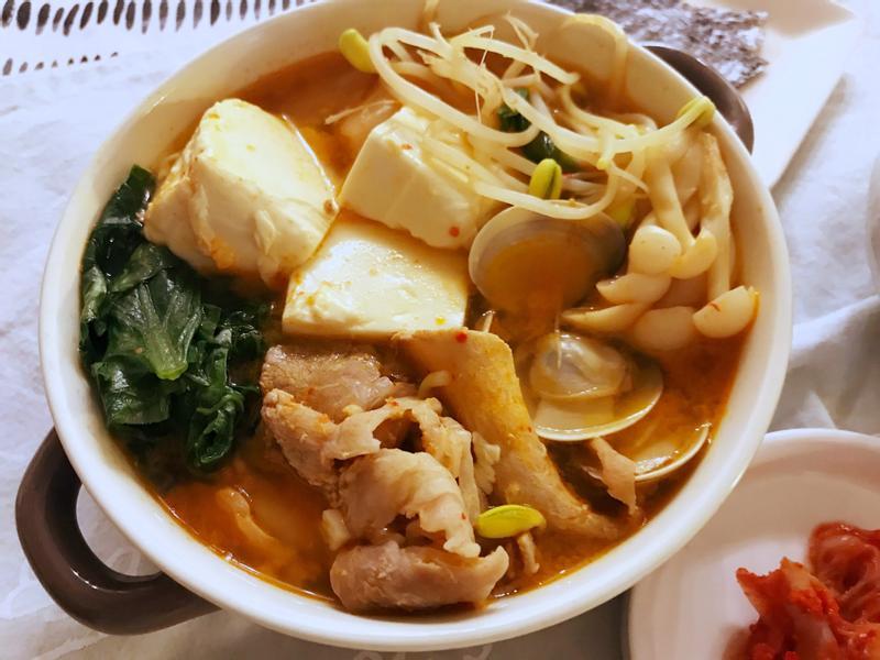 泡菜豆腐湯 (露營OK)