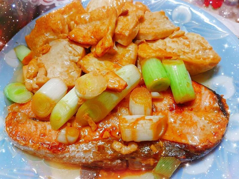 鮭魚豆腐(最佳拍檔)