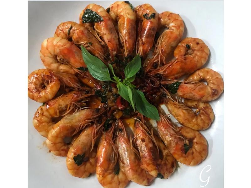 炒蝦 (辣味)