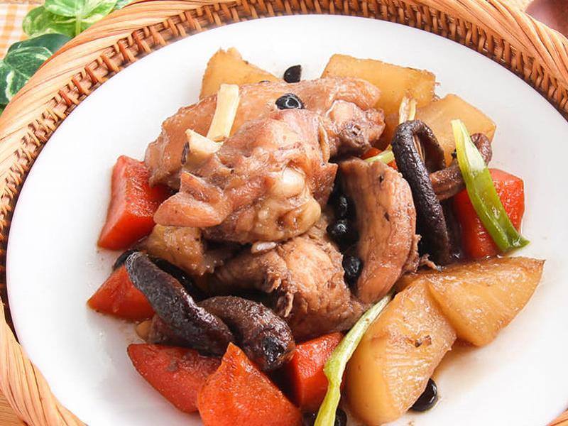【厚生廚房】蘿蔔燒雞