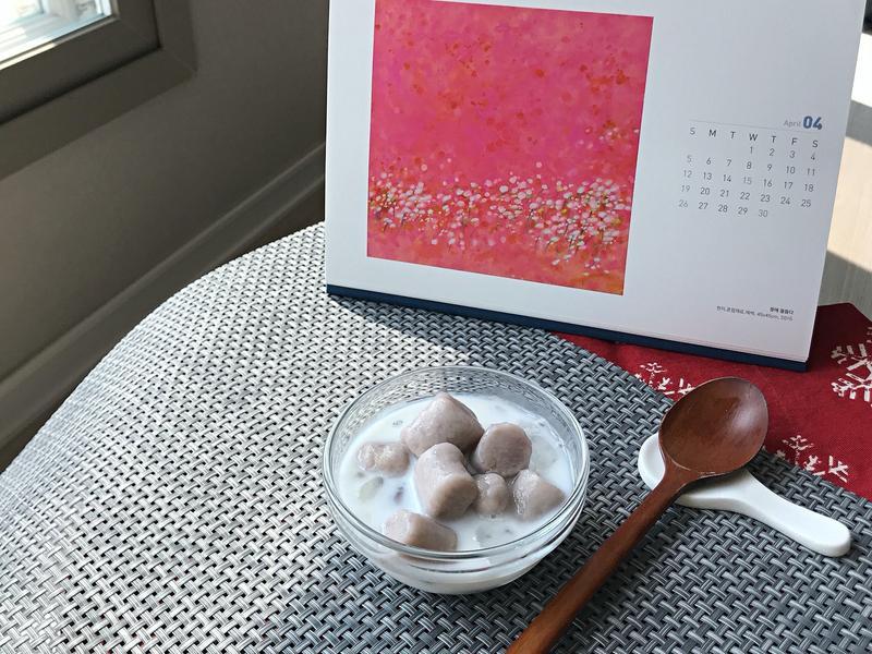 傳統手作芋圓