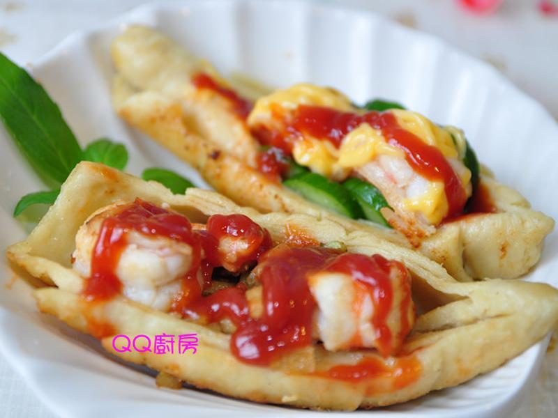 【亨氏番茄醬】早安!麵腸鮮蝦堡