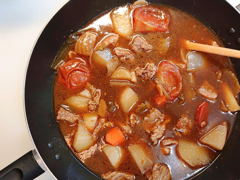 紅燒番茄牛腩