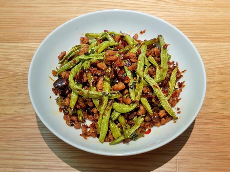 乾煸四季豆 (烤箱版)
