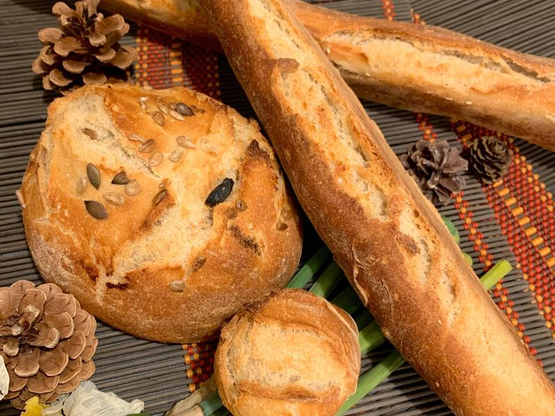 外脆內軟的法國長棍麵包