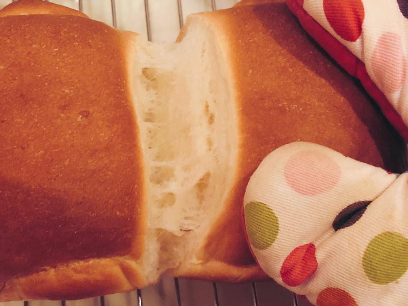 超香超奶超軟~湯種北海道純奶吐司