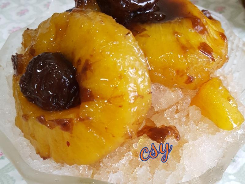 鳳梨梅子冰
