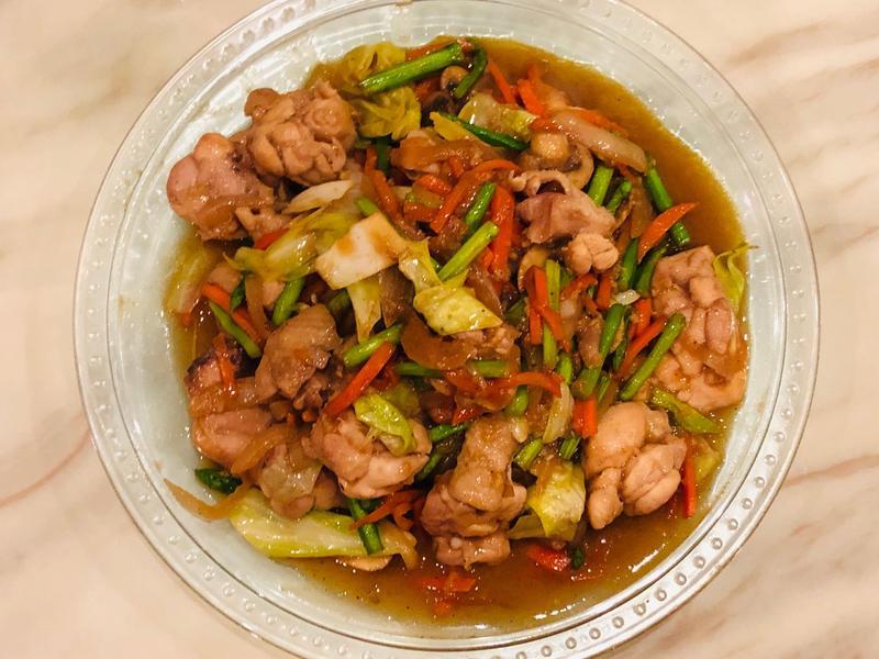 MASAの味噌拌炒雞腿