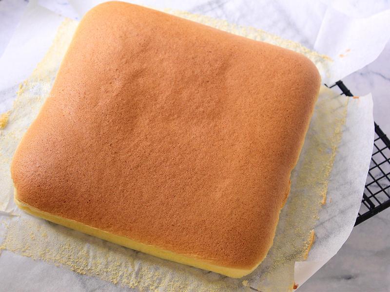 【少油版】古早味蛋糕