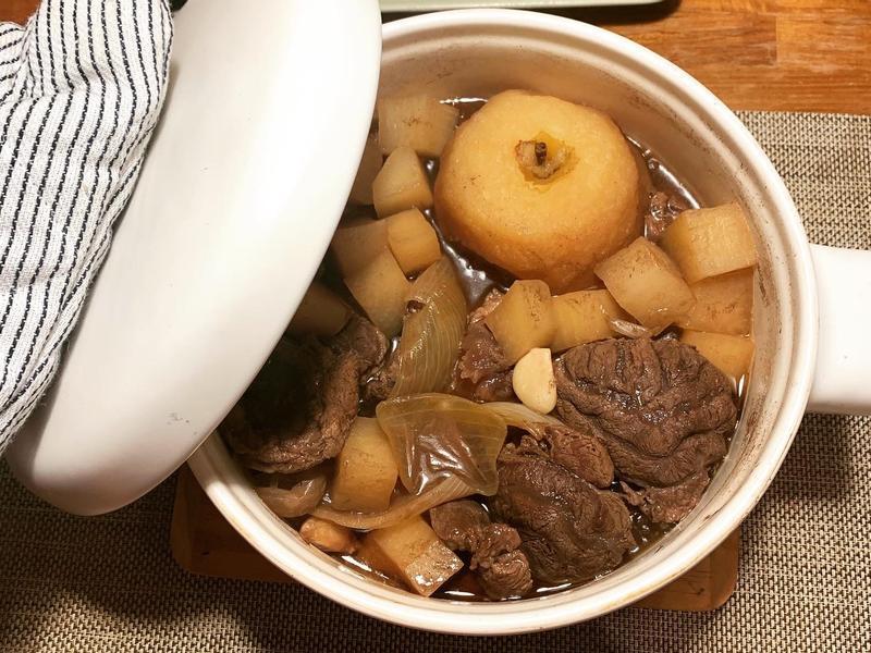 林熊寶教煮菜-日式燉牛肉