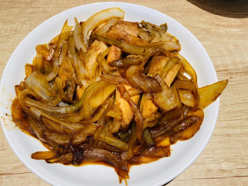醬燒洋蔥雞胸肉