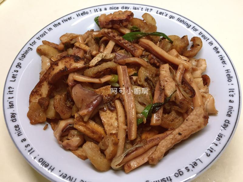 ✨客家小炒-豬油渣版✨超下飯的家常菜