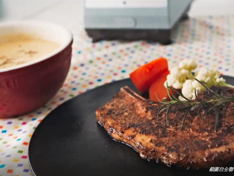 全聯食譜之爸爸回家做晚飯 - 戰斧豬排餐