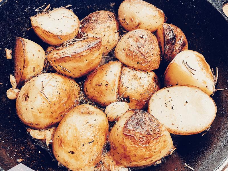 義式香料烤馬鈴薯