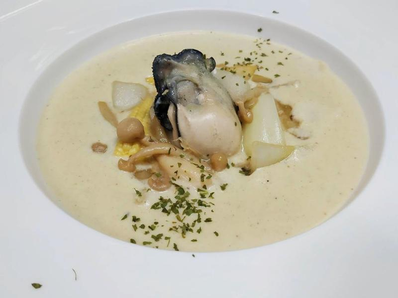 精力充沛-牡蠣濃湯