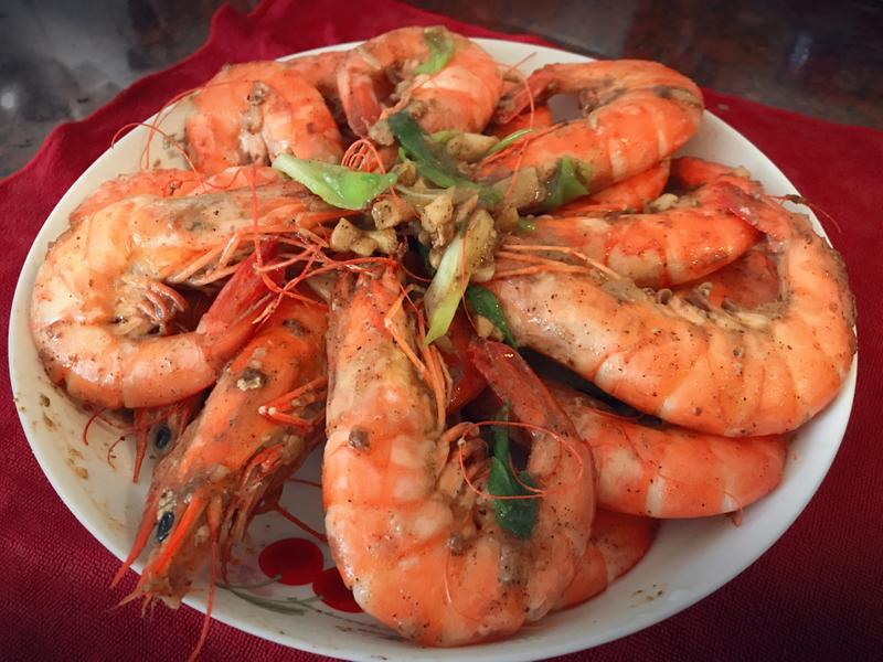 超簡單🦐胡椒蝦🦐
