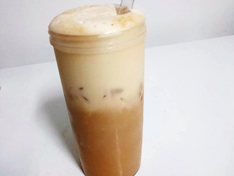 高蛋白💪奶油鹽拿鐵咖啡