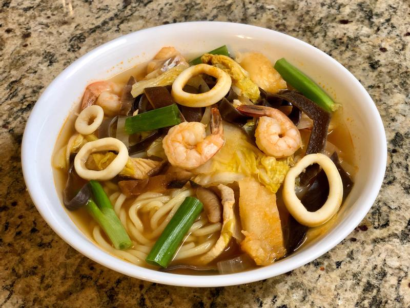 韓式炒碼麵 (小辣)