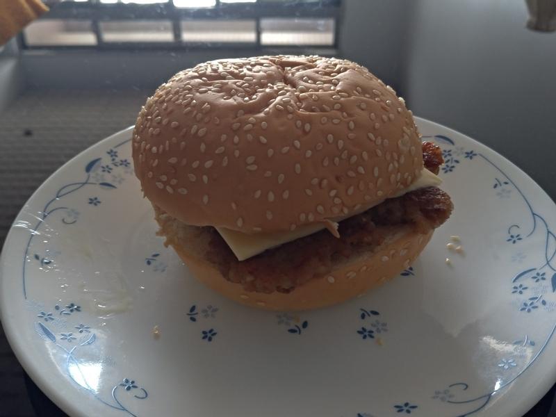 豬肉起司堡