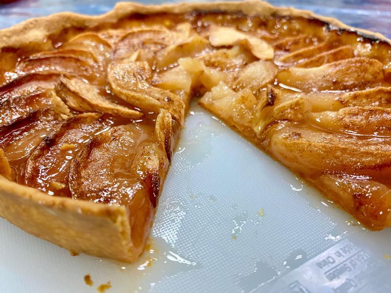 蘋果派 ~ 夭壽簡單材料放一放送烤就好了