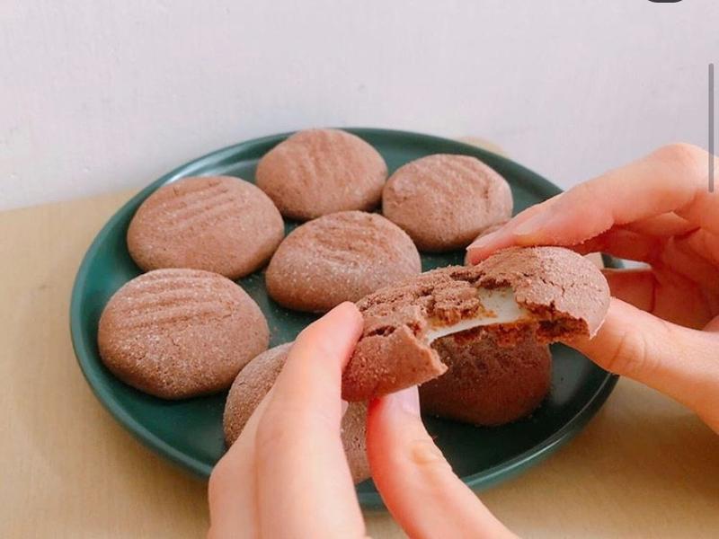 韓式朱古力麻薯曲奇