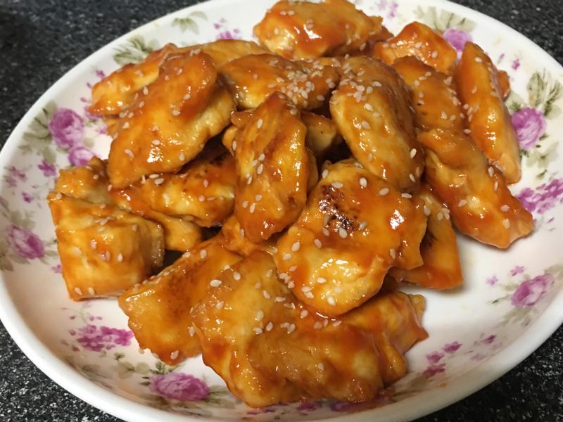 糖醋雞胸肉