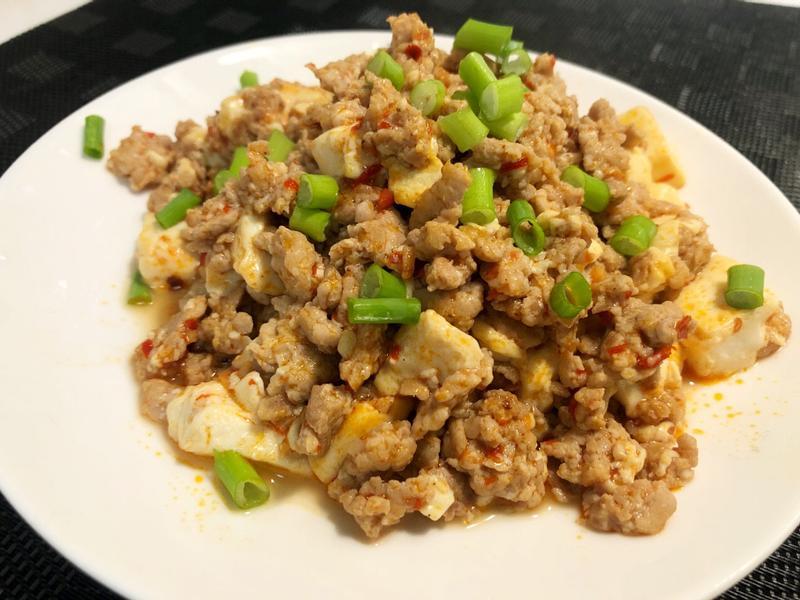 [減醣] 蒜蓉辣椒肉末豆腐