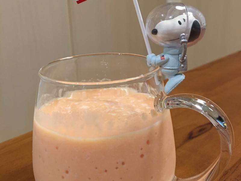 木瓜牛奶的完美比例