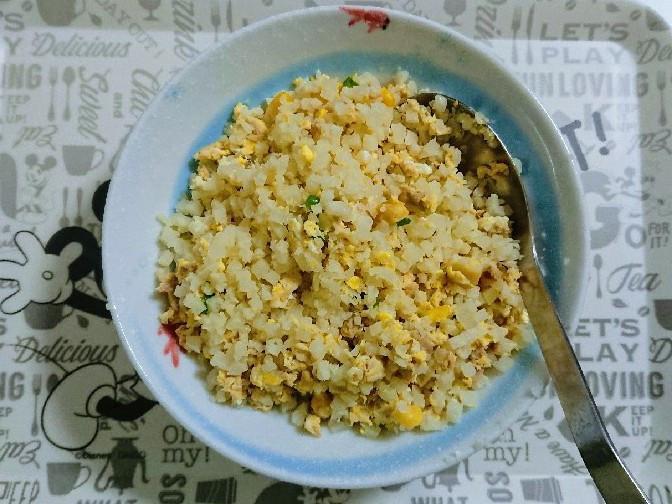 用『花椰菜米』做減醣炒飯