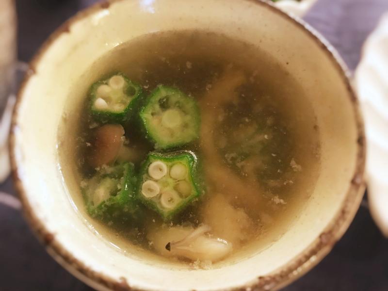 秋葵味噌湯(露營OK)