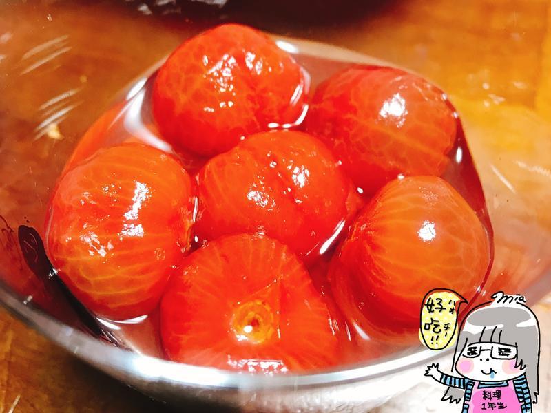 簡單!清爽糖漬小蕃茄