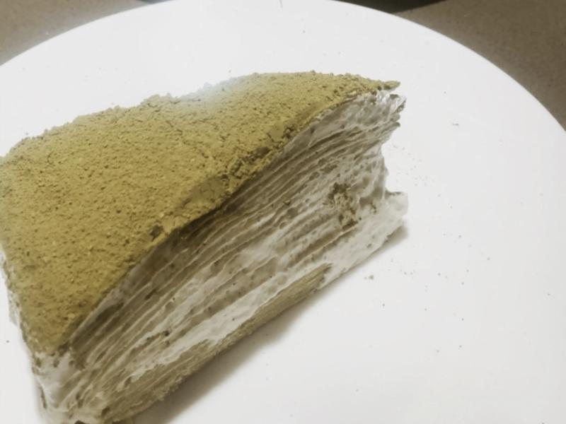 心血來潮做一下『抹茶千層蛋糕』