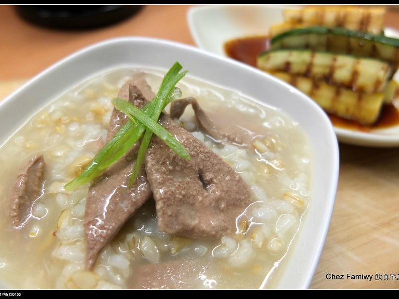 Chez Famiwy式豬肝粥