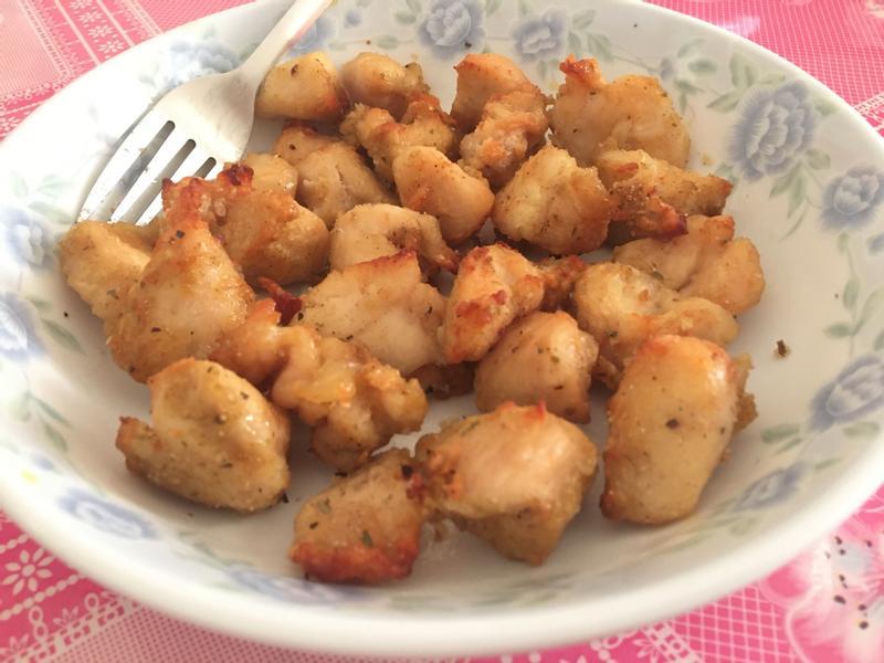 氣炸系列:椒鹽雞粒
