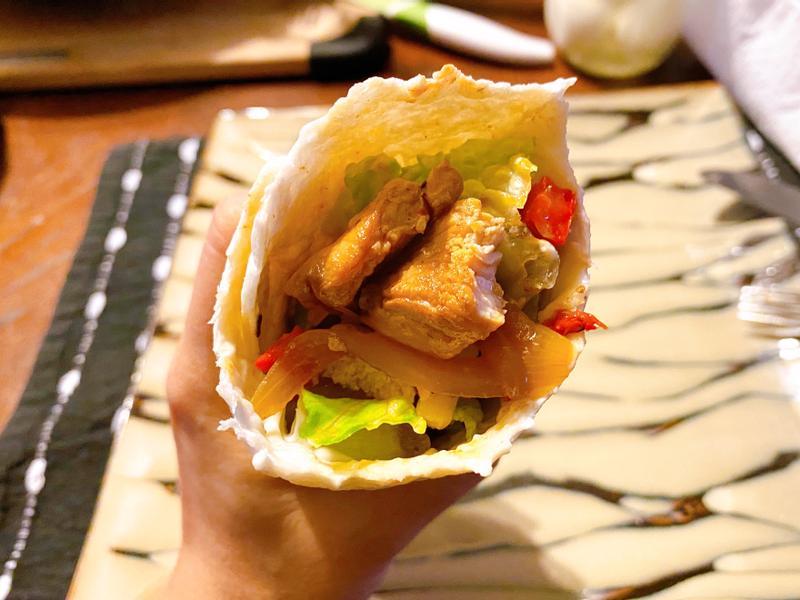 清爽無負擔墨西哥雞肉捲餅