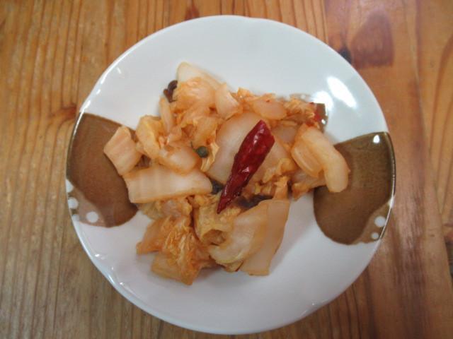 麻辣自製酸菜