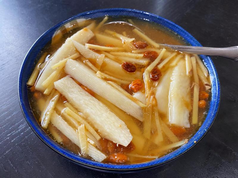 清蒸枸杞山藥(懶人電鍋料理)