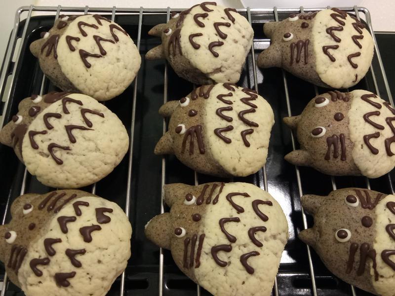 龍猫菠蘿麵包
