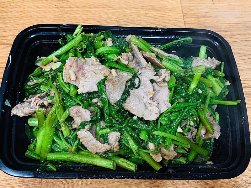 沙茶空心菜牛肉