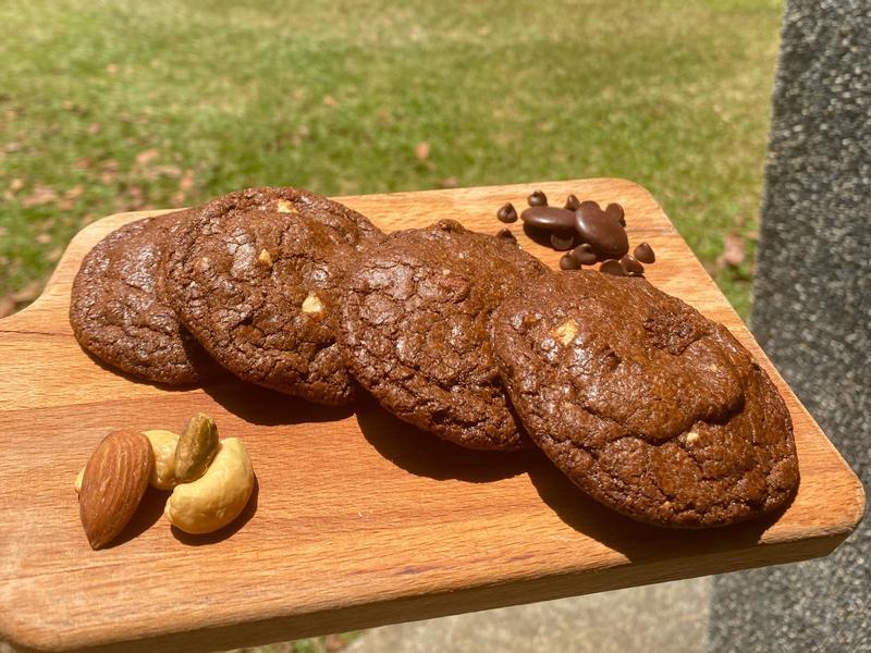 燕麥巧克力堅果軟餅乾